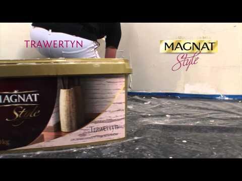 Jak nakładać tynk Trawertyn Magnat Style - film instruktażowy