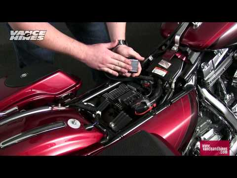 Fuelpak LCD Installation Instructions. 2012 Harley-Davidson CVO Touring