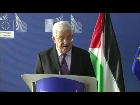 #Israel: Palestinian President Mahmoud Abbas