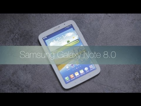 Samsung Galaxy Note 8.0: Videoreview