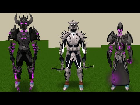 All Dyes on Tier 90 Armour & Omen's Outfit