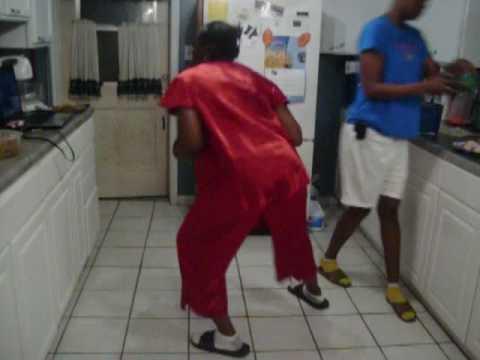 Grandma Doing The Stanky Leg video