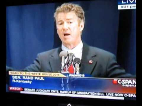 Rand Paul RNC Dinner 2013