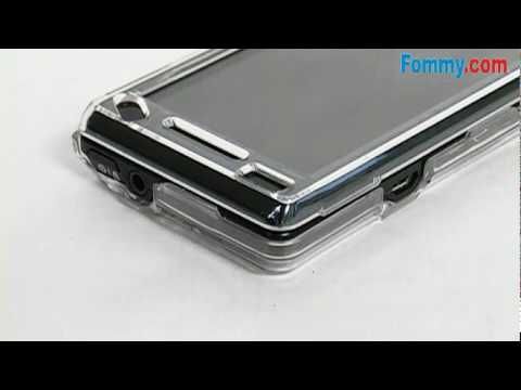 Amzer Clear Snap-On Crystal Hard Case for the Motorola Droid