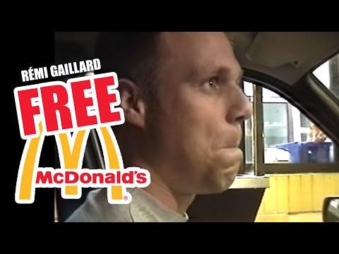 FREE MEAL AT MC DONALD'S (REMI GAILLARD)