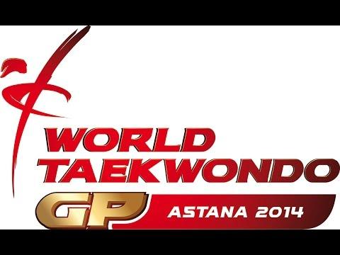 Day 2 Court 1 - Morning Session - 2014 WTF WORLD TAEKWONDO GRAND PRIX SERIES 2