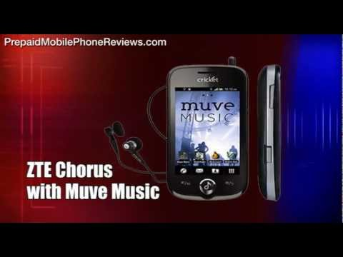 ZTE Chorus with Muve Music released for Cricket
