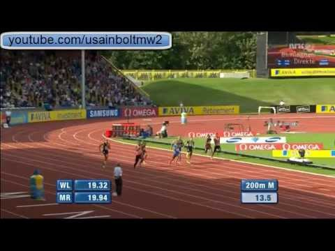 200M Men Birmingham Diamond League 2012