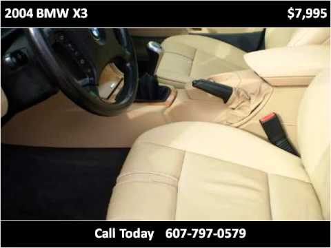 2004 BMW X3 Used Cars Binghamton NY