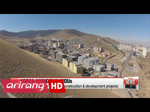 ARIRANG NEWS BREAK 15:00 Korea, Mongolia agree to expand flights, economic cooperation at summit