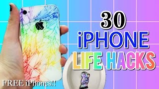 30 IPHONE LIFE HACKS YOU NEVER KNEW | 30 IPHONE LIFE HACKS YOU MUST KNOW | IPHONE LIFE HACKS