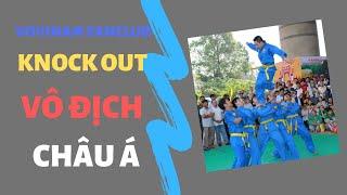 knock out Vovinam giải vô địch châu á 2018 indonesia