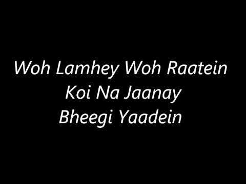 Atif Aslams Bheegi Yaadeins Lyrics