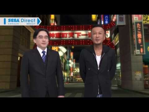 [Nintendo Direct JP] Yakuza 1 &amp; 2 for Wii U - Info Presentation