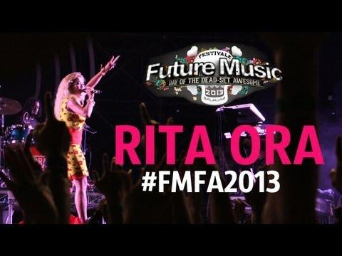 Rita Ora @ Future Music Festival Asia 2013 [HD]