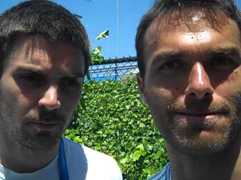 Colin Fleming & Ross Hutchins at 2012 Australian Open