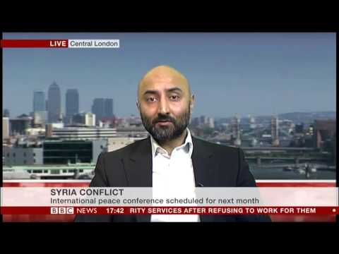 Kristyan Benedict (Amnesty International UK) on arms to Syria