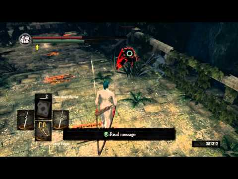 Dark Souls: Poiseless PvP Cheap Shot