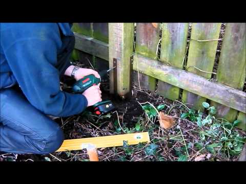 Repair broken timber fence posts - quick and easy with Post Buddy