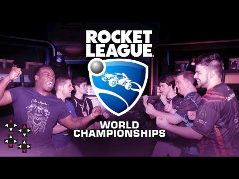 PLAYING WITH ROCKET LEAGUE PROS at the 2017 World Championships!  — Presented by Rocket League