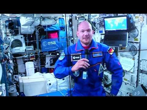 Deutscher Astronaut: Gerst verfolgt WM aus dem All