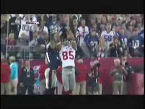The best play on super bowl XLII