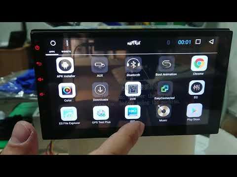 Магнитола  Navivox 7''  на Android c Aliexpress NV1182H72A3 (распаковка))