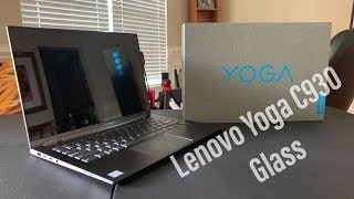 Lenovo Yoga C930 Glass I Unboxing & First Impressions.