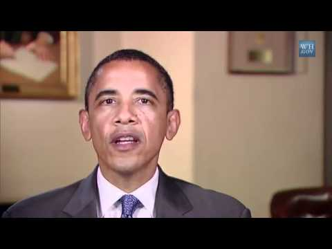 Weekly Address from US-President Barack Obama