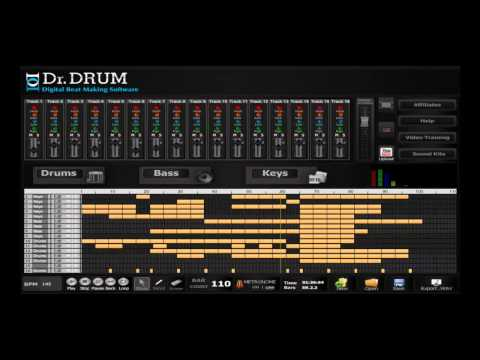 Dr Drum - music mixer software for mac and PC