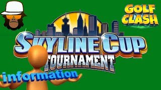 Golf Clash Skyline Cup Tournament Fixed
