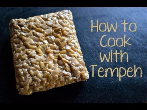 How to Cook with Tempeh (for Spaghetti or Nachos)
