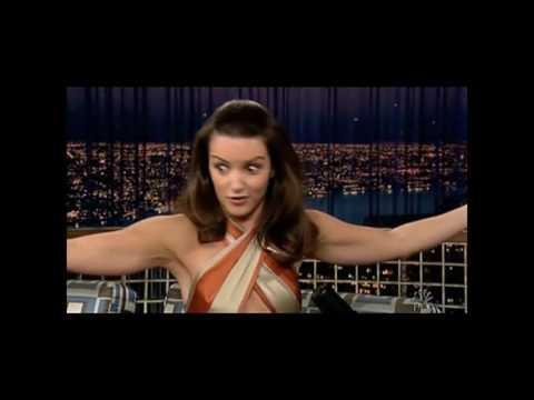 """Kristin Davis on """"Late Night with Conan O'Brien"""" - 6/9/05"""