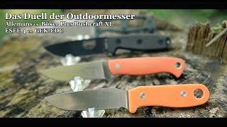 Muss ein Outdoormesser teuer sein? Bushcraft- & Survivalmesser im Vergleich