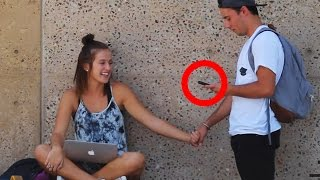 "HOW TO HOLD ANY GIRLS HAND ""PICKING UP GIRLS IN PUBLIC"""