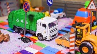 Excavator videos for children | Trucks for Kids | Construction trucks for children