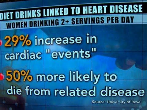 Diet drink danger: Possible link to heart risk in older women, study says