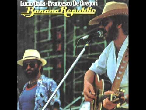 Francesco De Gregori - Santa Lucia (live banana republic 1979)