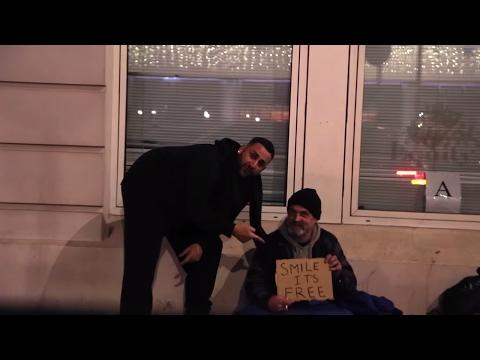 Feeding the homeless in London