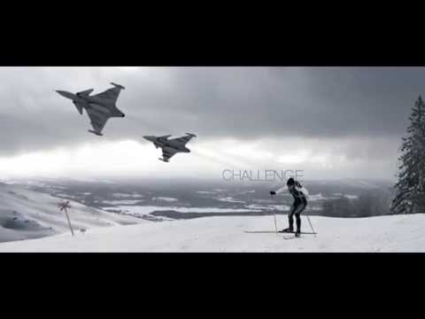Tug of war: Gripen vs Skier