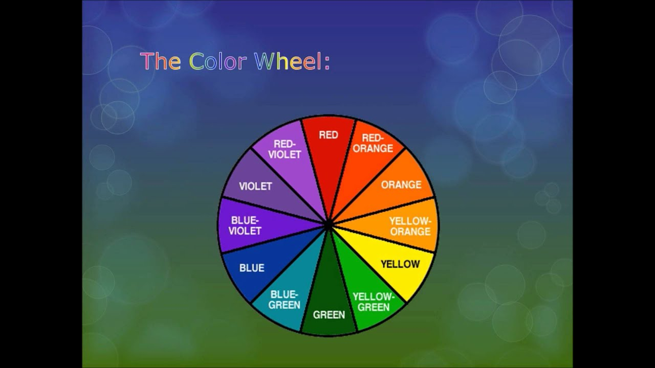 Makeup color wheel