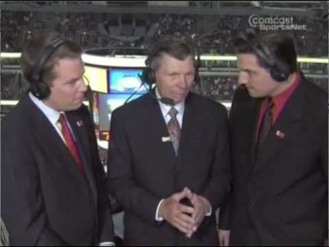 Chicago Blackhawks Stan Mikita Between Periods Interview Video