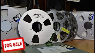 Ampex Studio Tape - Australian Broadcasting Corporation - RAI - Ampex 406 Reel Alu