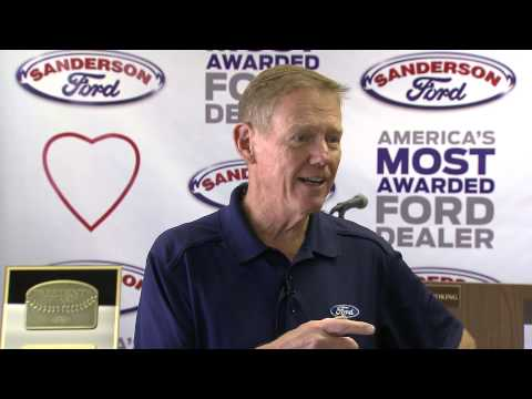 Sanderson Fords 2015 Awards Ceremony with Alan Mulally