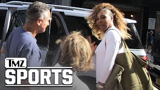 Serena Williams Leaving The Palace | TMZ Sports