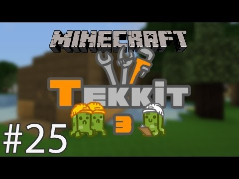 Tekkit 25: Geothermal Power House