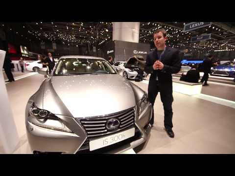 Lexus IS 250 and IS 300h 2013 at the Geneva Motor Show - Which? first look