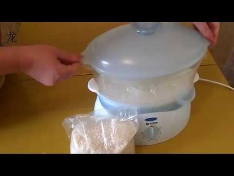 рис в пароварке легко и быстро