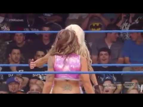 TNA Knockouts Championship: Gail Kim (c) vs. Angelina Love vs. Velvet Sky vs. Taryn Terrell