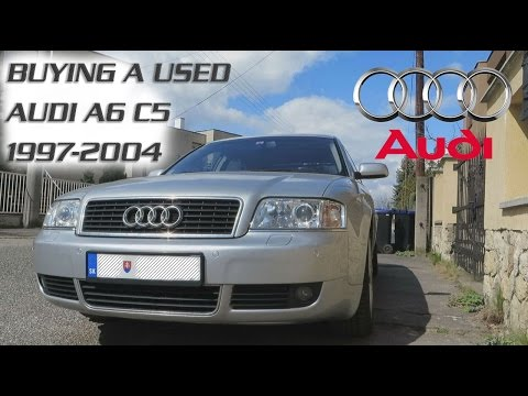 Buying a used Audi A6 C5 - 1997-2004. Engine types. Consumtion. Engine performance